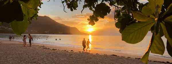 Sunset at Beau Vallon (Peter Moore)