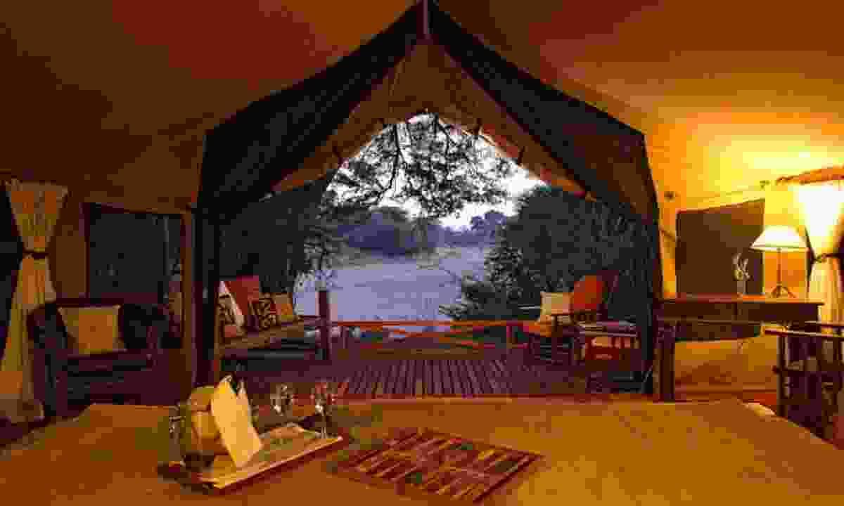 Your tented room in Jongomero (Jongomero Camp)
