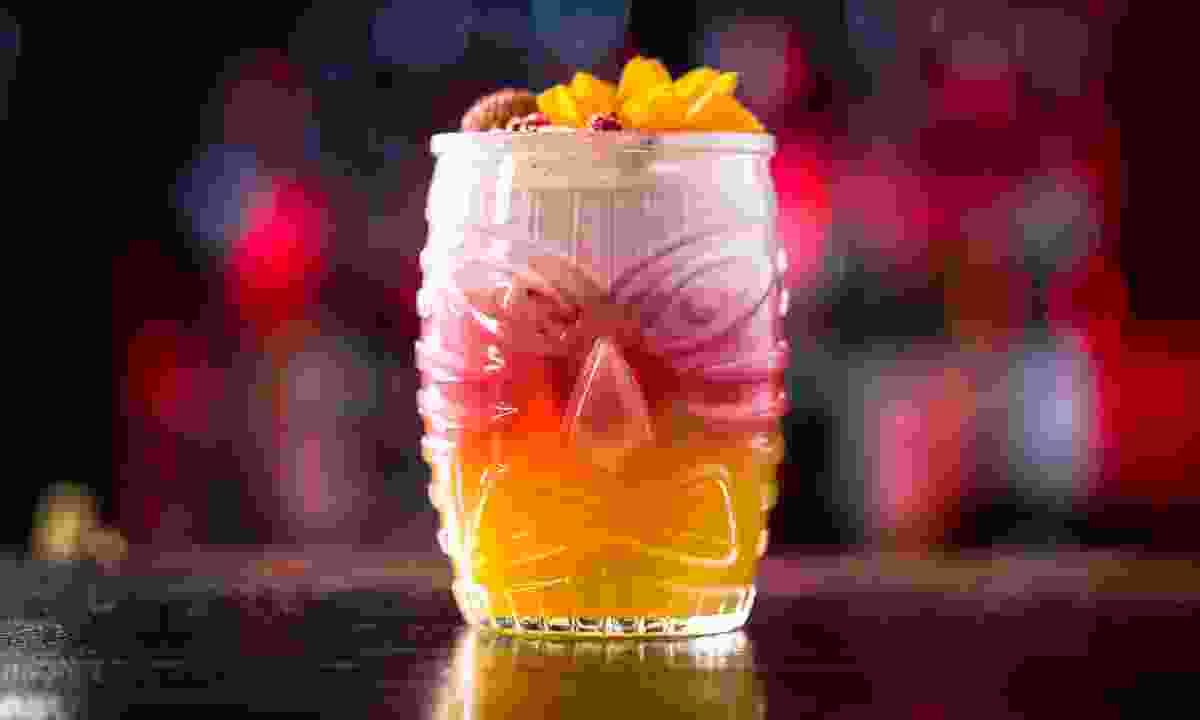 A Mai Tai in a Tiki glass (Shutterstock)