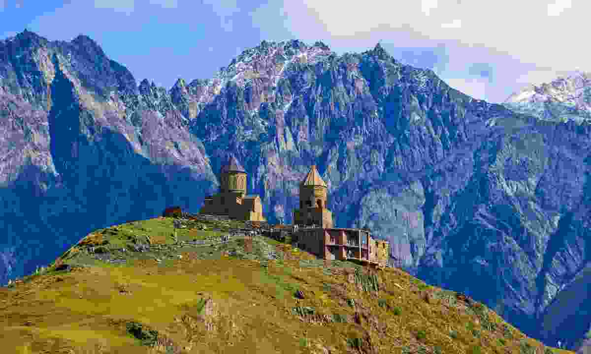 The Caucasus Mountains (Shutterstock)