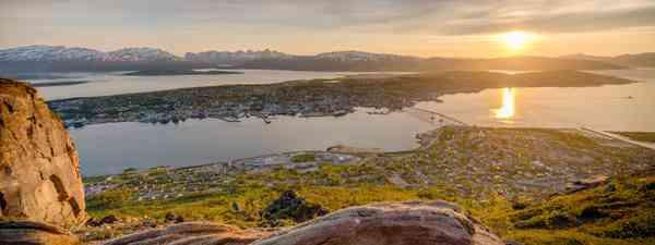 Summer twilight in Tromsø (Shutterstock)
