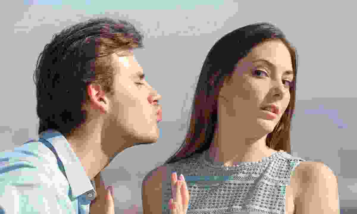 Woman rejecting a man (Dreamstime)