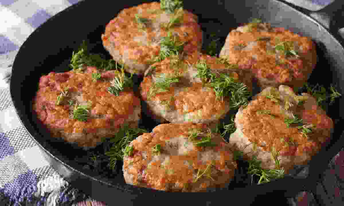 Cook up fresh fish cakes (Dreamstime)