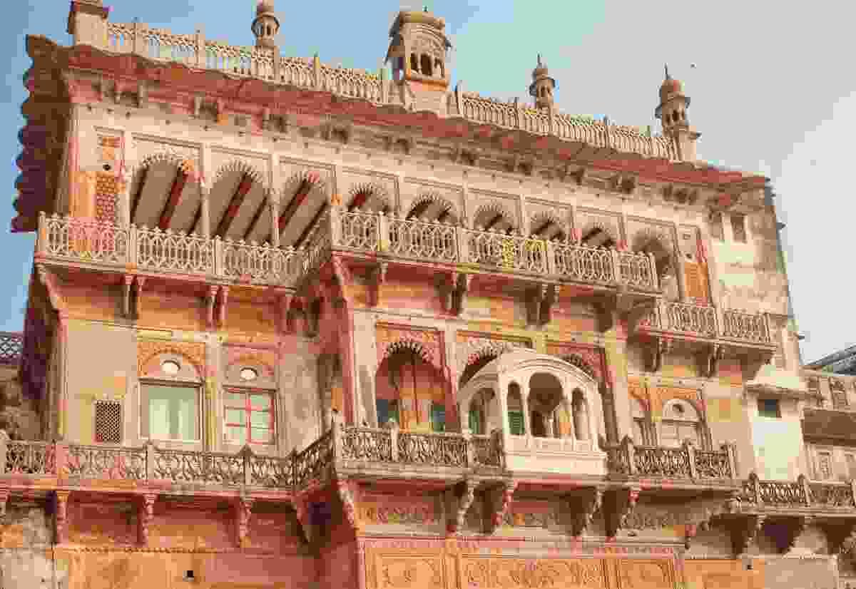 Beautiful ancient building of Ramnagar Fort. (Dreamstime)