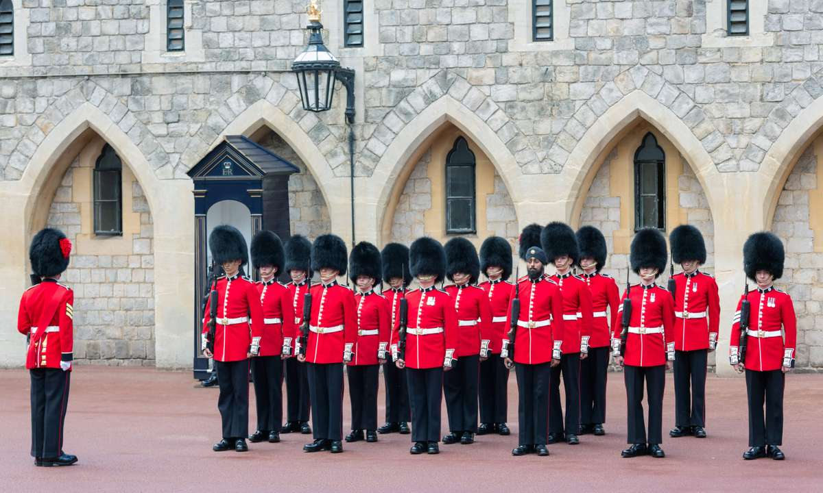 Changing of the guard at Windsor Castle (Dreamstime)