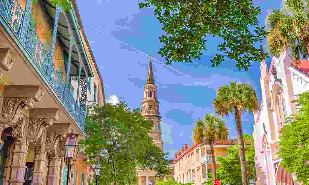 Charleston's charming  historic district (Dreamstime)