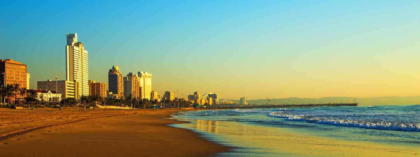 City of gold: Durban's waterfront go a spruce-up for the football World Cup (Dreamstime)
