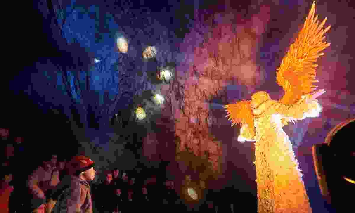 Nativity scenes in Postojna Caves (Slovenian Tourist Board)