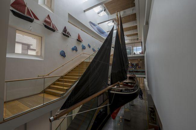 Galway Museum's hooker boat display (Shutterstock)