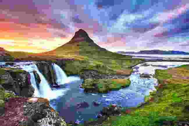 Kirkjufell Waterfall, Iceland (Shutterstock)