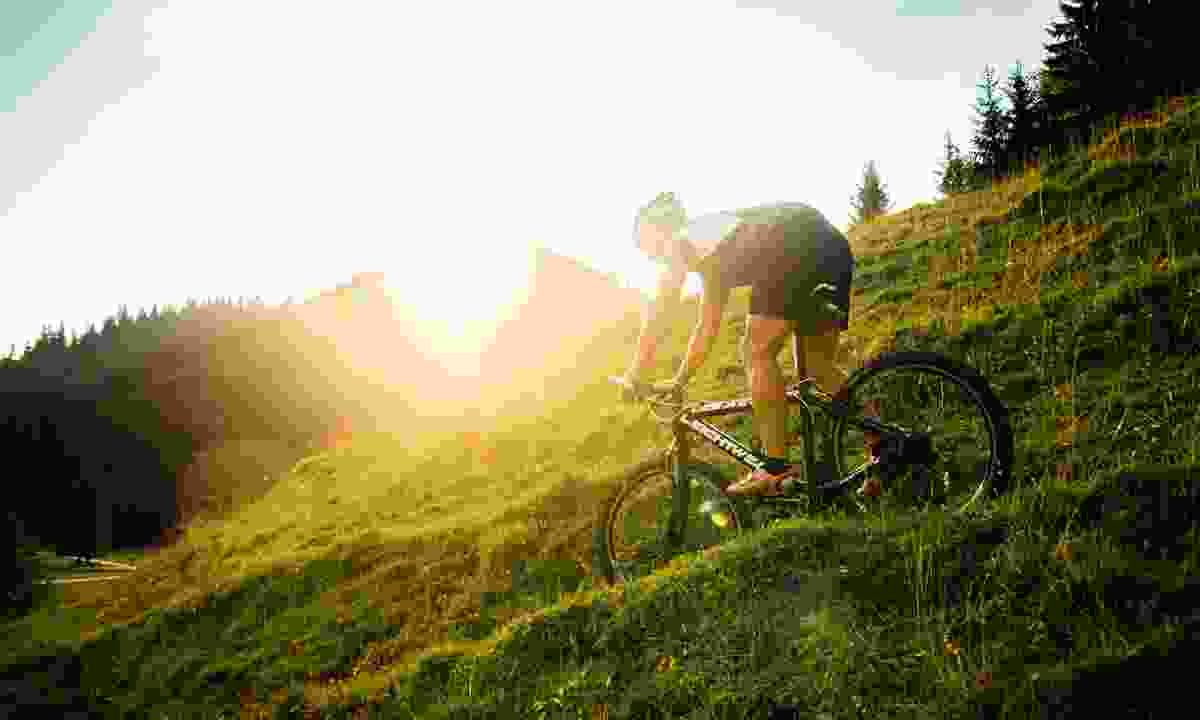 Mountain biking the hills (Ruhpolding Tourismus GmbH)