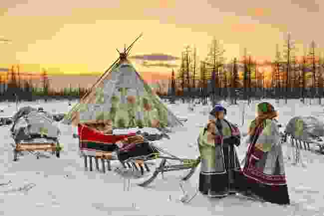Nenet women in Yamal, Russia (Shutterstock)