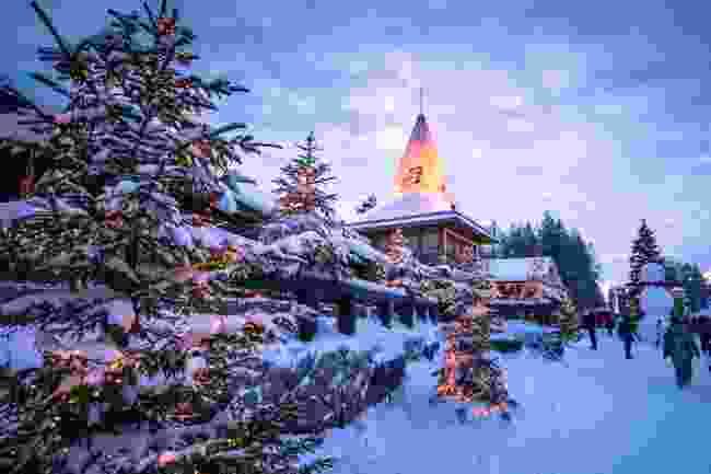 Santa Claus Village, Rovaniemi, Finnish Lapland (Shutterstock)