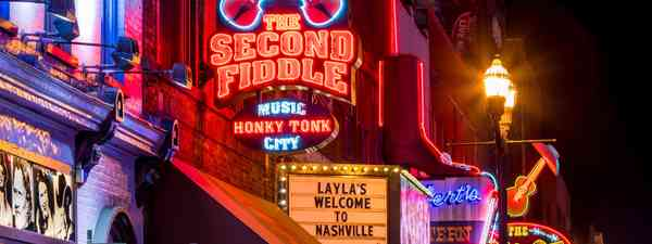 Nashville at night (Dreamstime)