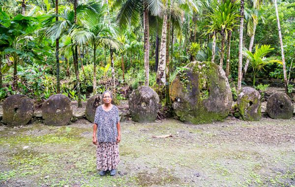 P.S. Traditional culture is still strong on Yap. Visitors are advised to dress modestly, with women covering their thighs in public and men not wearing too-short shorts. Always ask for permission before entering private property or taking a picture of people, too...