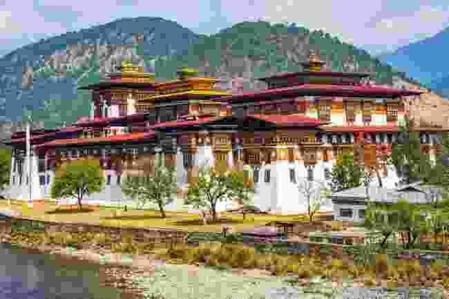 Punakha Dzong monastery (Shutterstock)