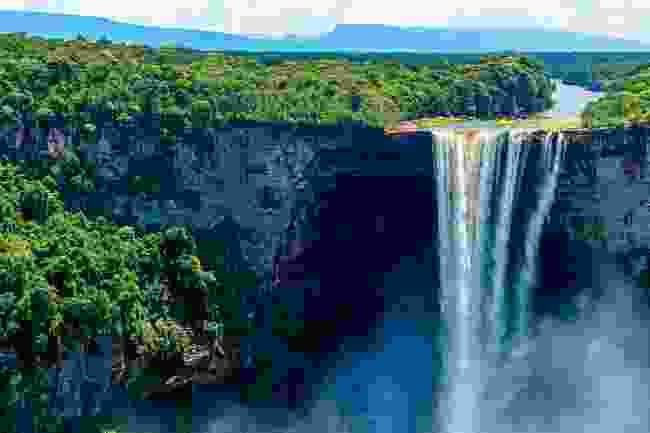 Kaieteur Falls, the world's largest single drop waterfall (Sarah Marshall)