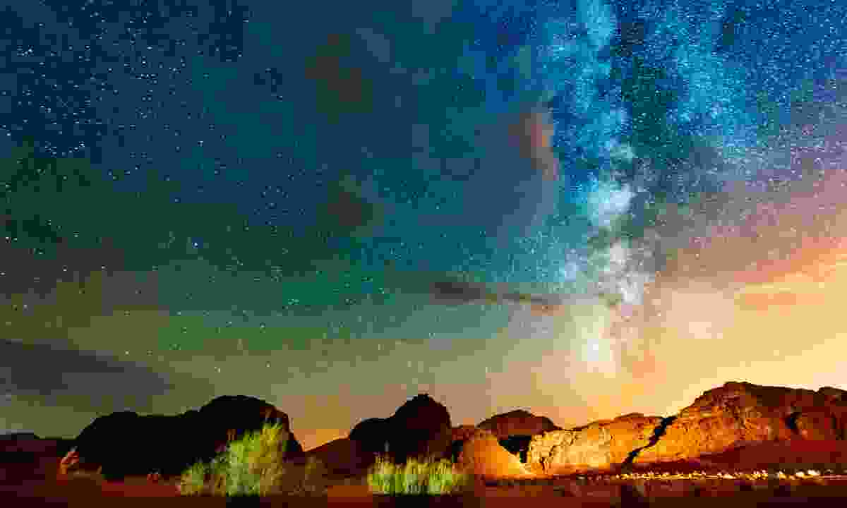 Stare up at the heavens to reset your world view in Jordan's Wadi Rum (Dreamstime)