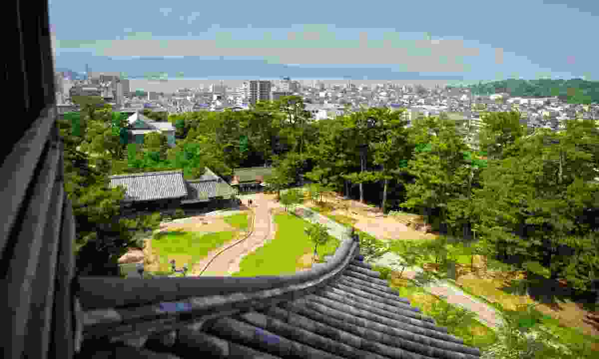 Matsu Castle views (Mark Stratton)