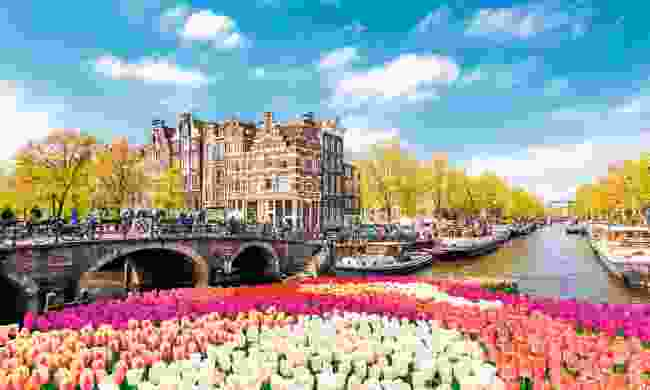 Take a lesser-travelled tributary to explore canal-threaded Amsterdam on TUI's Dutch Delights itinerary (TUI River Cruises)