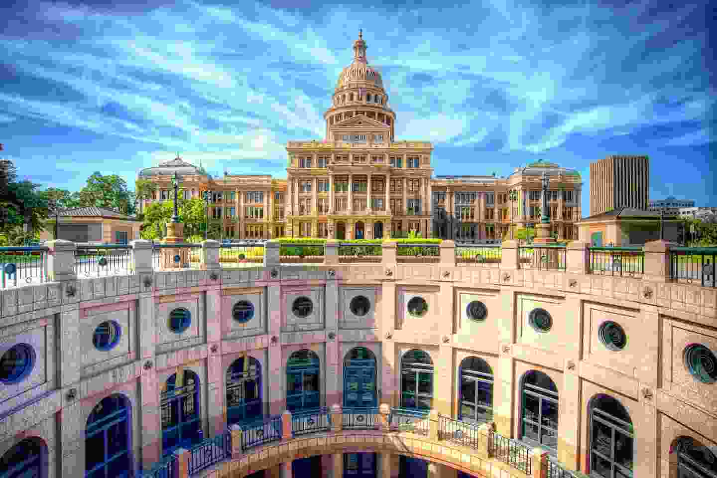 The Texas State Capitol Building, Austin (Shutterstock)