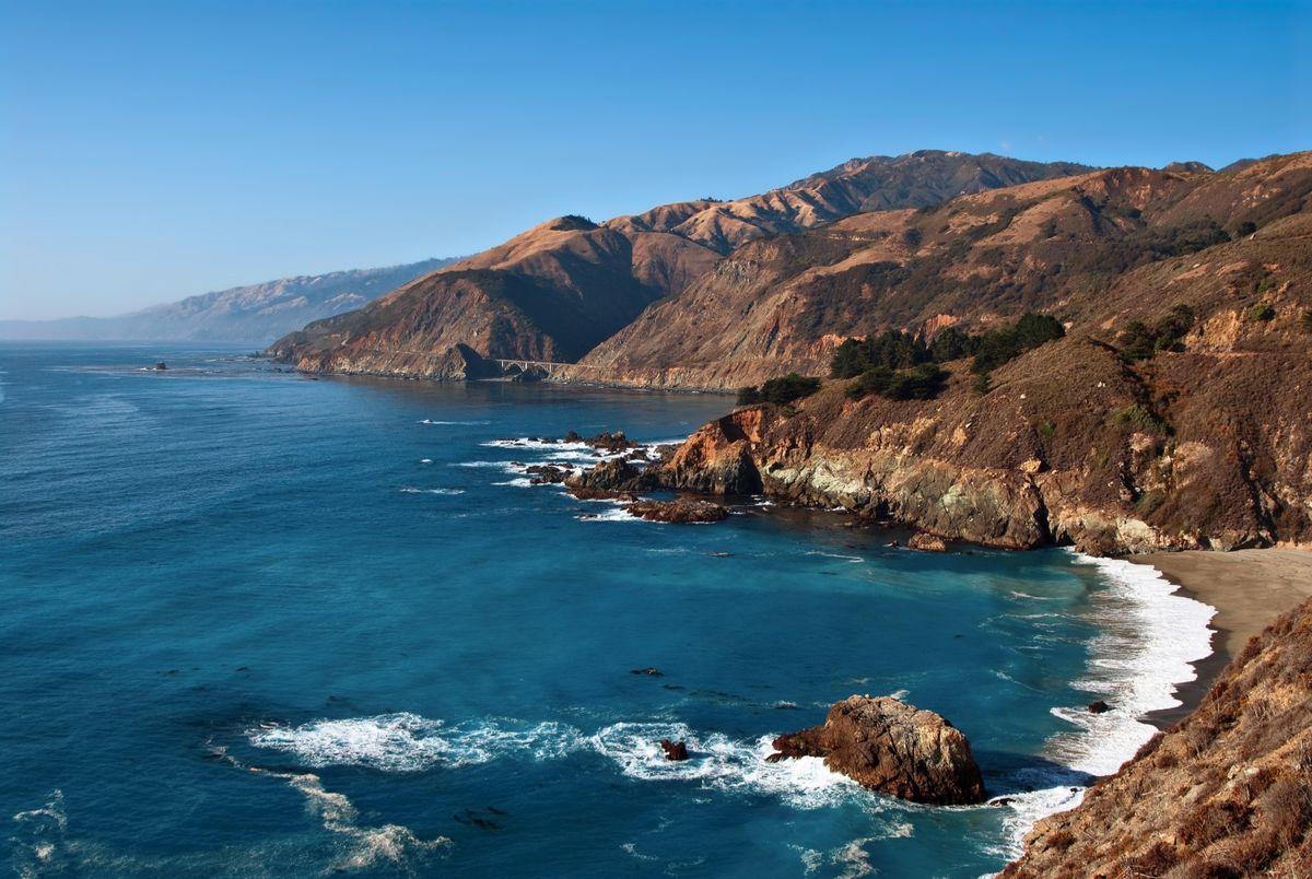 Big Sur coastline (Dreamstime)
