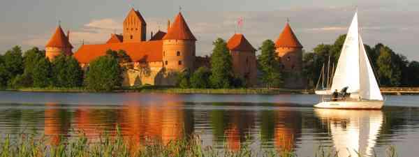 Trakai royal castle near Vilnius, Lithuania (Dreamstime)