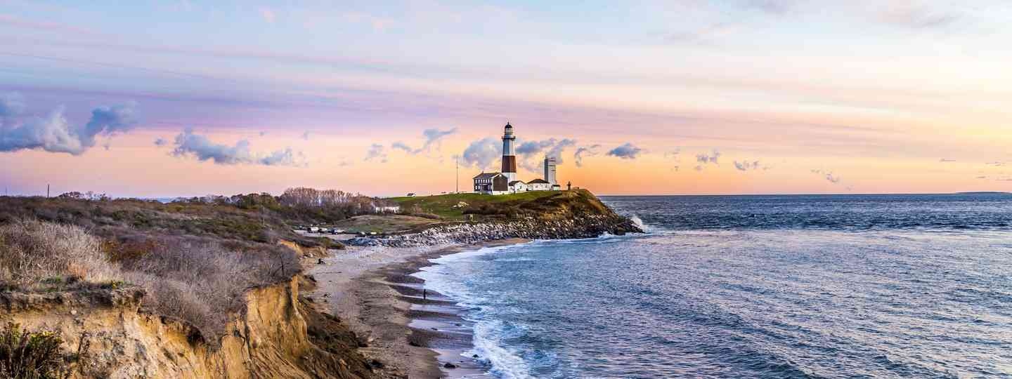 Montauk Point Light, Lighthouse, Long Island (Dreamstime)