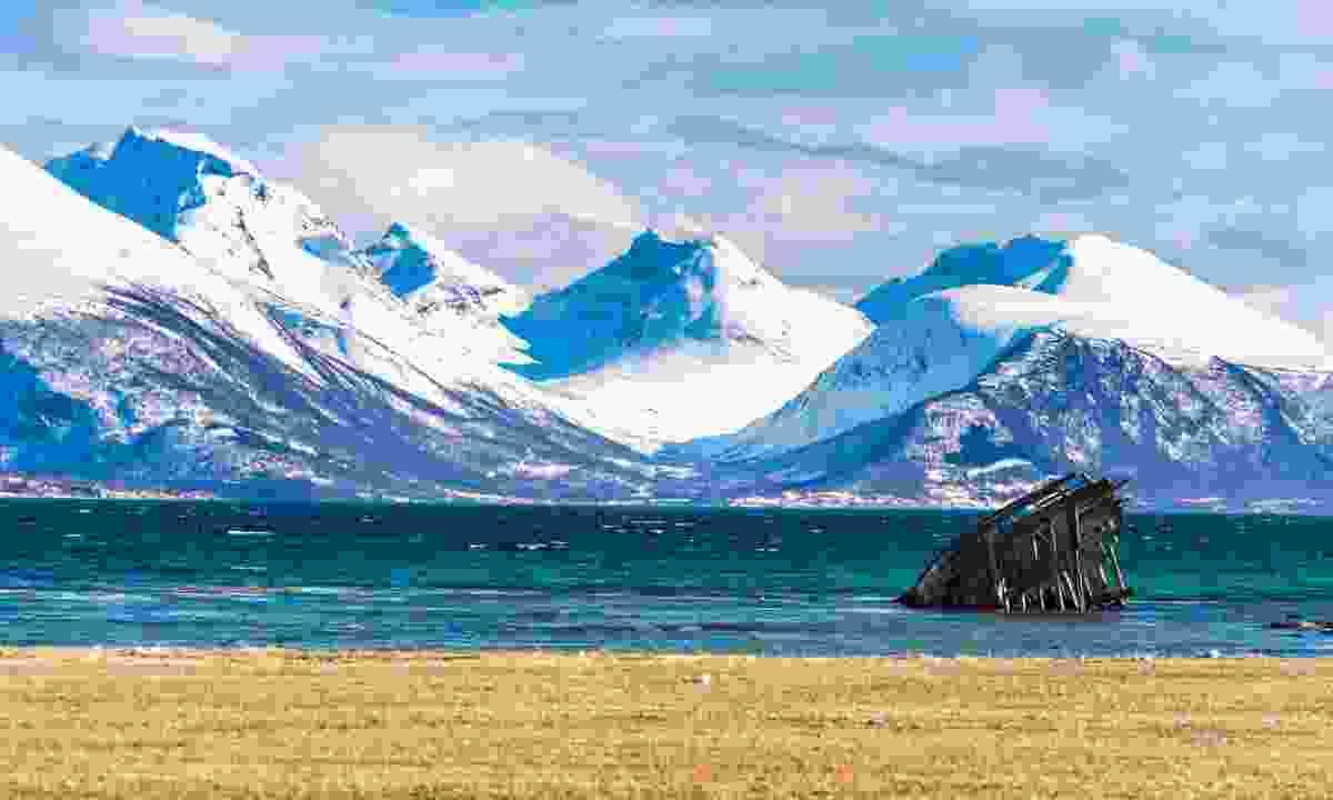 A beach near Tromsø (Shutterstock)