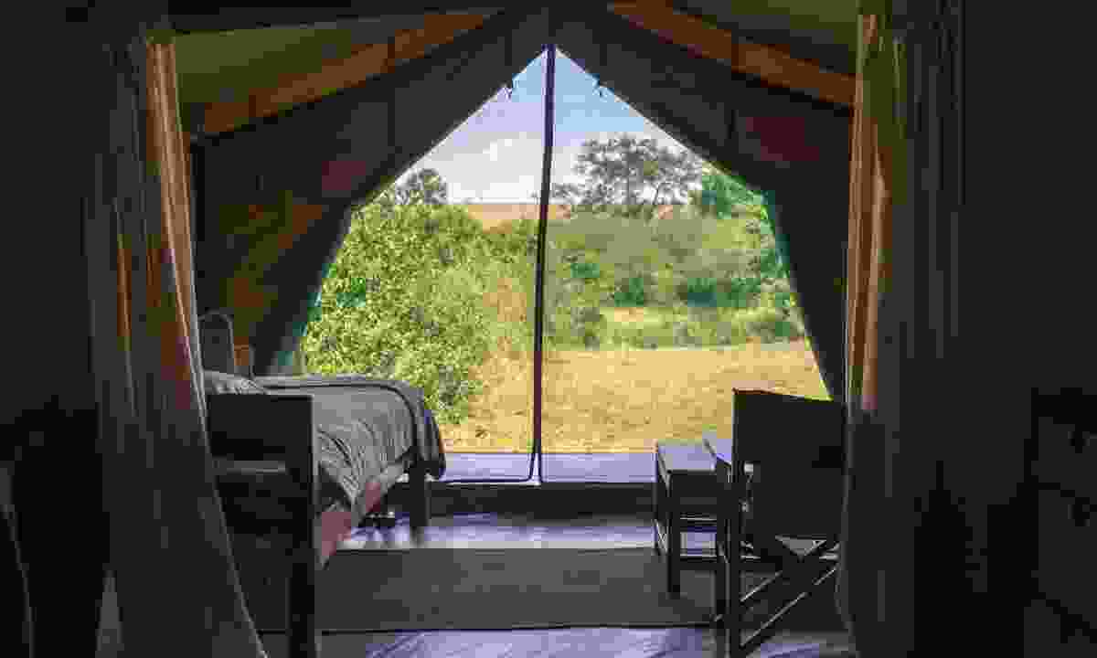 A luxury safari camp in the Serengeti (Shutterstock)