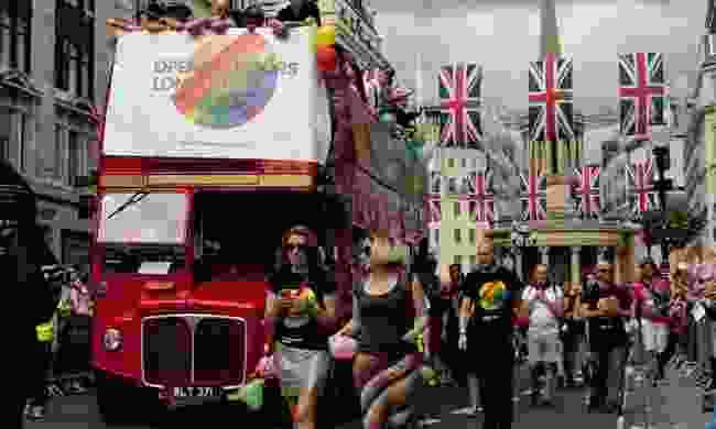 Pride on the streets of London (Shutterstock)