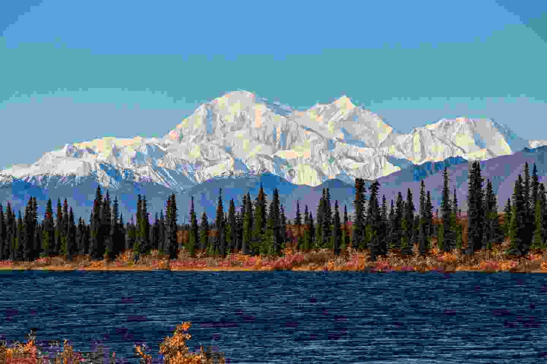 Mount Denali, Alaska (Shutterstock)