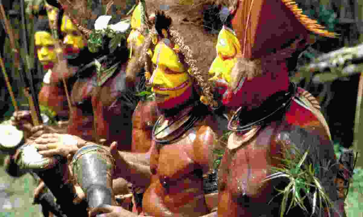 A tribe in Papua New Guinea (Dreamstime)