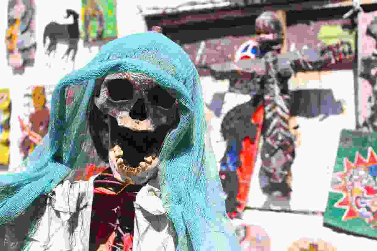 Vodou-influenced artworks in Port-au-Prince, Haiti (Graeme Green)