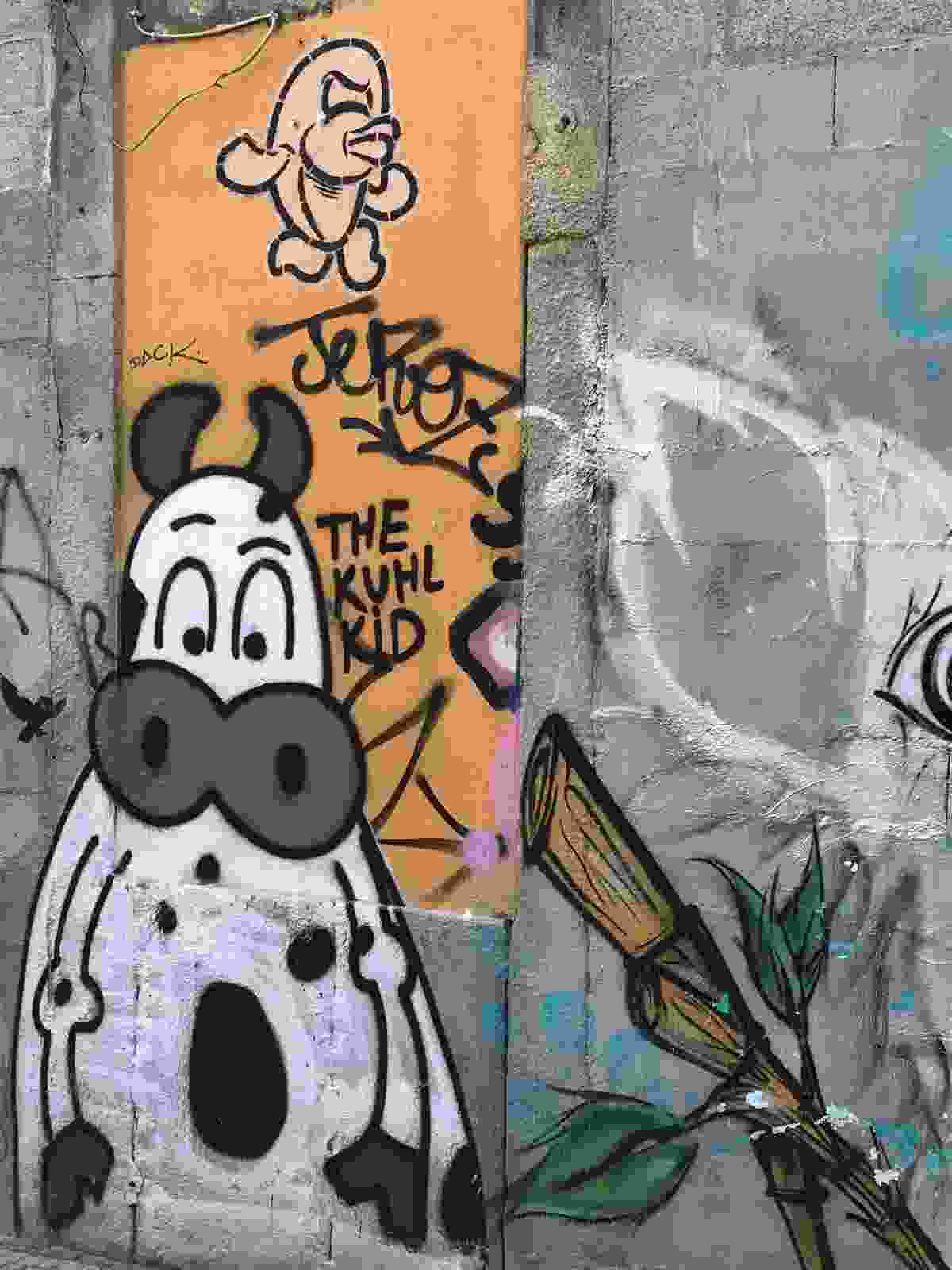 Kuhl Kid is a German street artist who just paints cows (Simon Chubb)