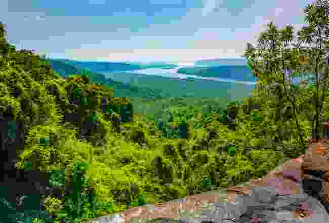 Koh Kong from the highlands, Cambodia (Shutterstock)