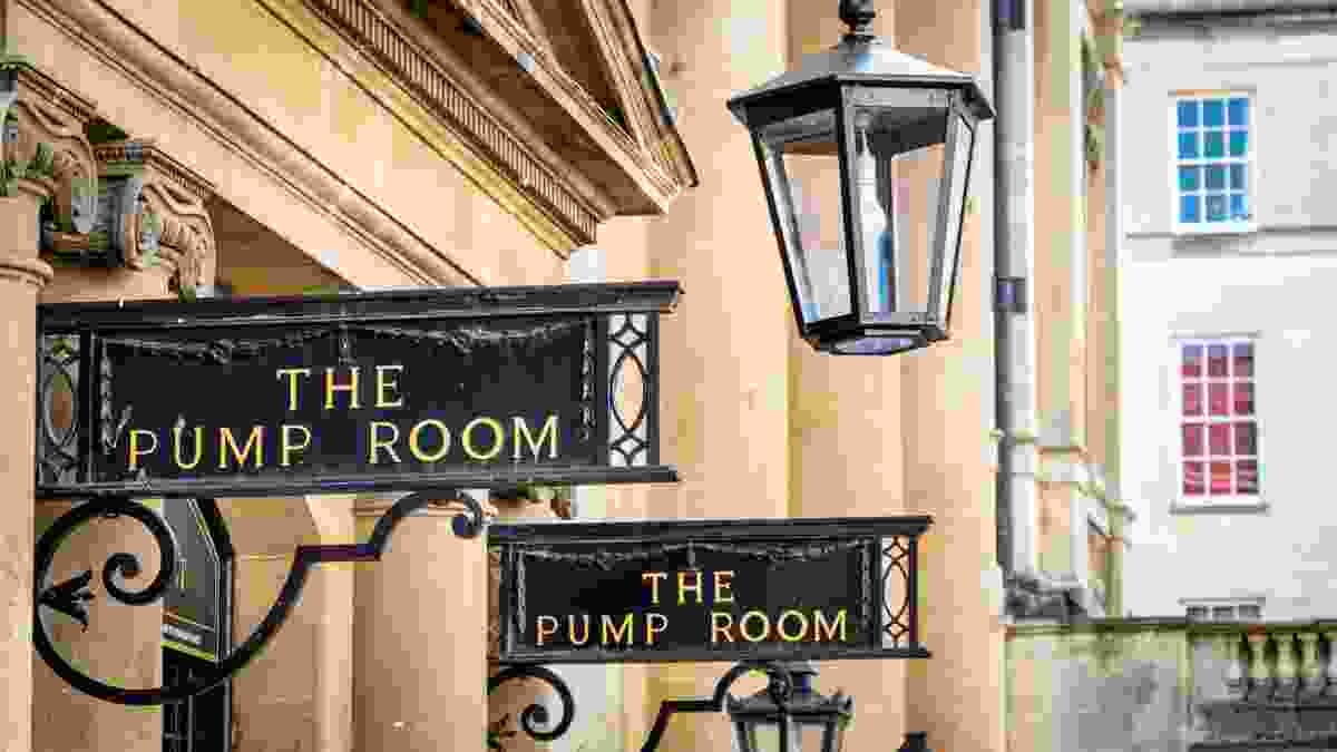 The Pump Room in Bath (Dreamstime)