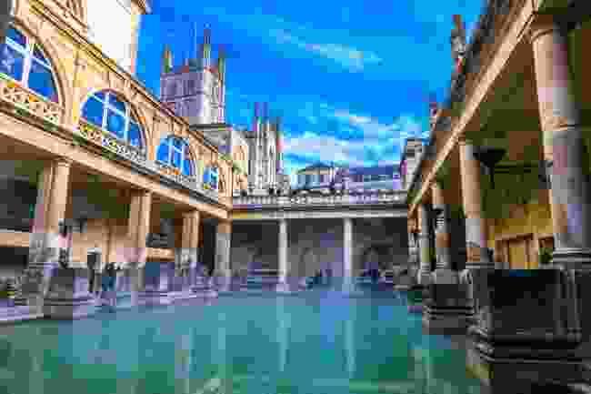 Roman baths in Bath, UK (Shutterstock)