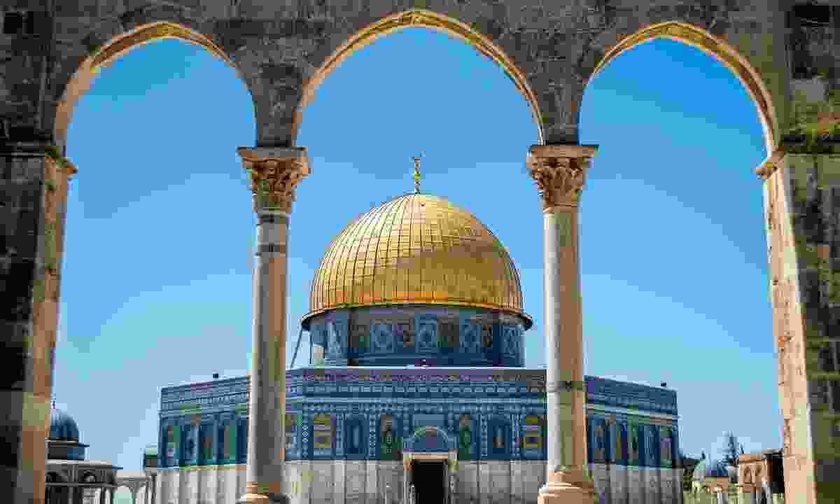 Dome of the Rock, Dome of the Rock, located in the Old City of Jerusalem (Shutterstock)
