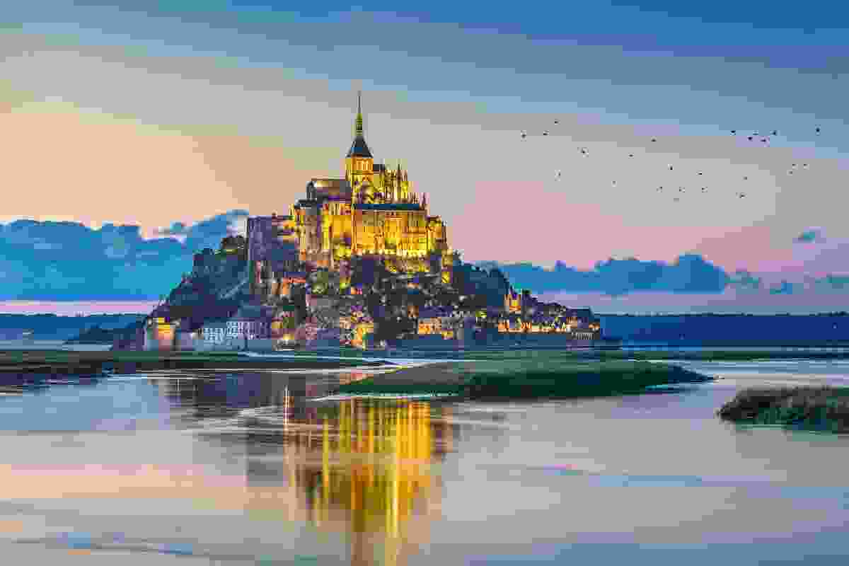 Mont Saint-Michel, Normandy (Shutterstock)
