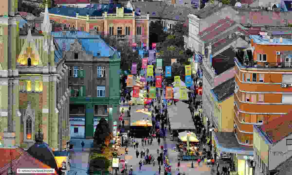 Zmaj Jovina street (www.novisad.travel)