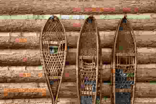 Traditional snow shoes (Shutterstock)