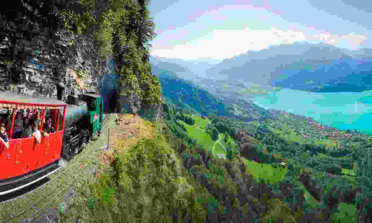 The Brienzer Rothorn (Brienz Rothorn Railway)