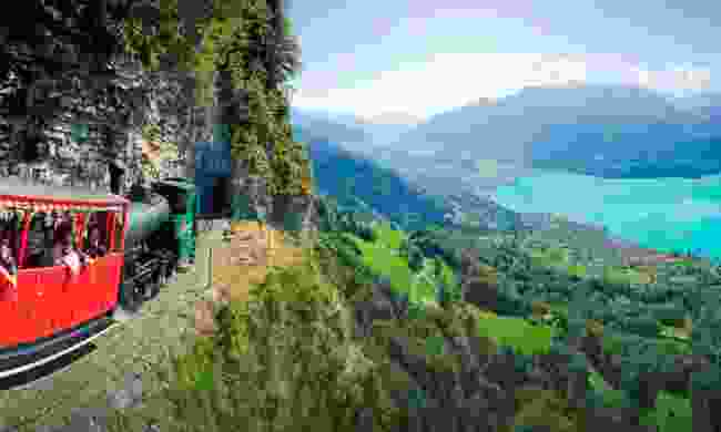 The Brienzer Rothorn (Brienz Rothorn Railway)