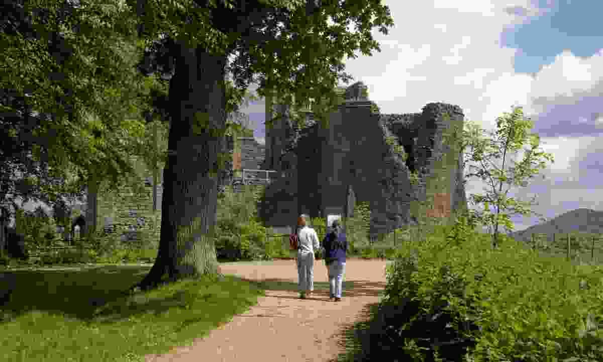 Goodrich Castle in the Wye Valley (Dreamstime)