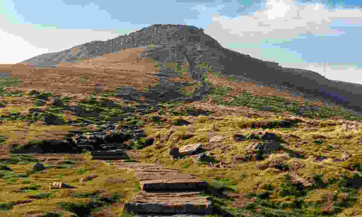 Ingleborough, the second highest mountain in the Yorkshire Dales (Shutterstock)