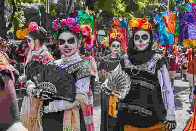 Day of the Dead is celebrated in Mexico, and all over Central America (Shutterstock)