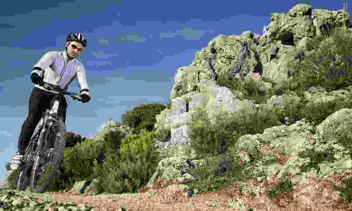 Mountain bike through Sardinia (Dreamstime)