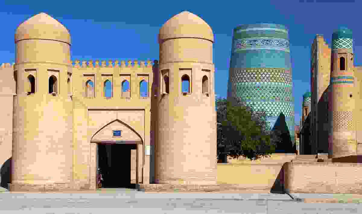 Itchan Kala can be found on the Silk Road in Uzbekistan (Dreamstime)