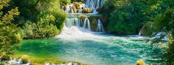 The stunning waterfalls at Krka National Park, Croatia (Dreamstime)
